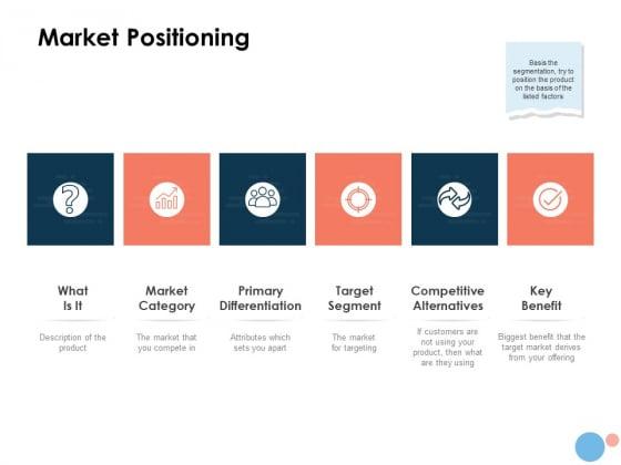 Target Market Market Positioning Ppt Pictures Diagrams PDF