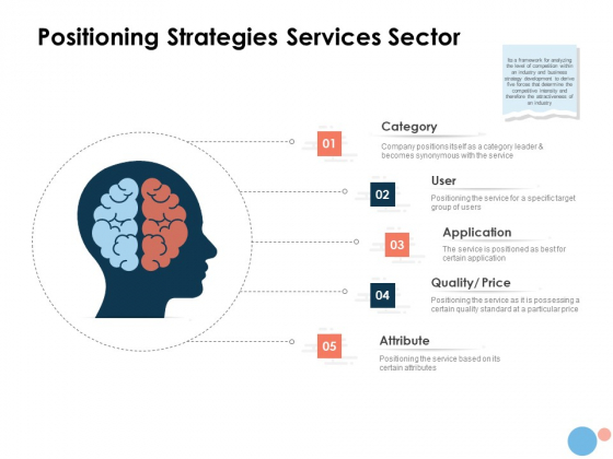 Target Market Positioning Strategies Services Sector Ppt Gallery Layouts PDF