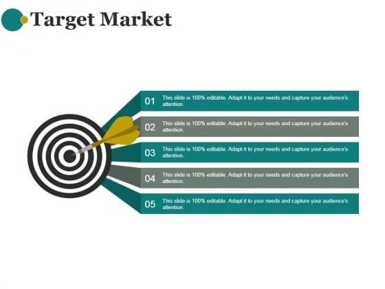 Target Market Ppt PowerPoint Presentation Tips