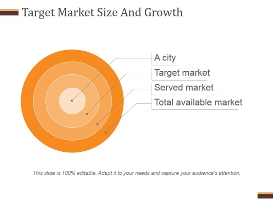 Target Market Size And Growth Template 1 Ppt PowerPoint Presentation Diagrams