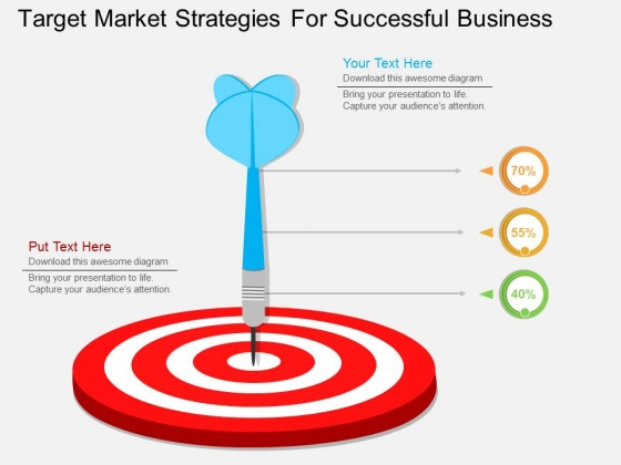 Target Market Strategies For Successful Business Powerpoint Template