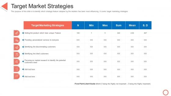 Target Market Strategies STP Approaches In Retail Marketing Demonstration PDF