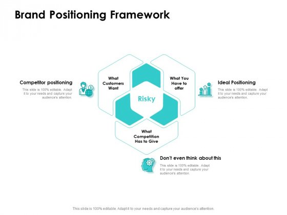 Target Market Strategy Brand Positioning Framework Ppt Portfolio Vector PDF