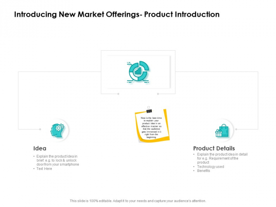 Target Market Strategy Introducing New Market Offerings Product Introduction Ppt Portfolio Gallery PDF