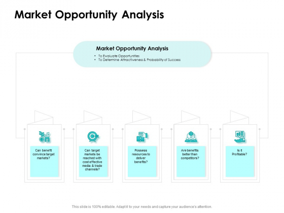 Target Market Strategy Market Opportunity Analysis Ppt Summary Vector PDF
