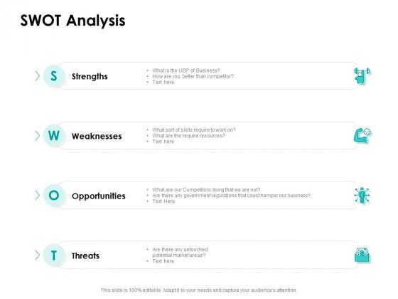 Target Market Strategy SWOT Analysis Ppt Show Demonstration PDF