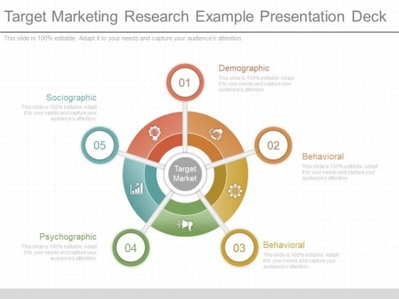 Target Marketing Research Example Presentation Deck