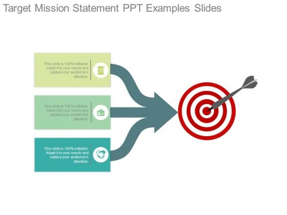 Target Mission Statement Ppt Examples Slides