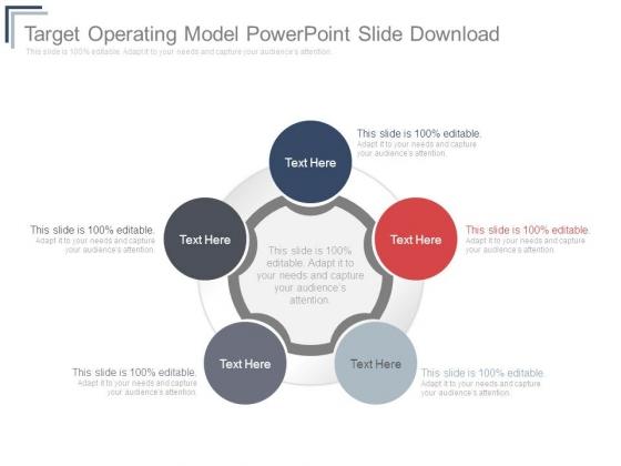 Target operating model powerpoint slide download powerpoint templates toneelgroepblik Image collections