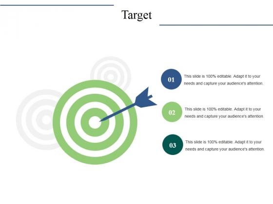 Target Ppt PowerPoint Presentation Gallery Brochure
