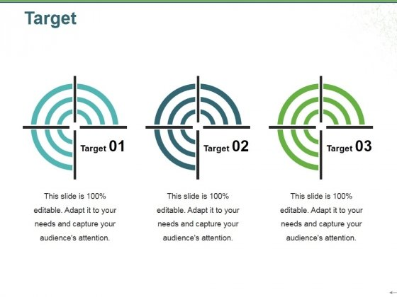 Target Ppt PowerPoint Presentation Icon Graphics