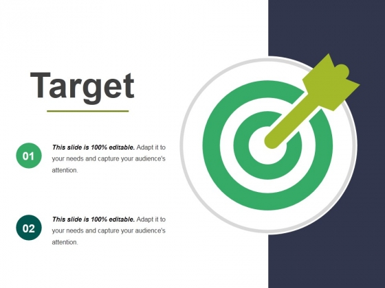 Target Ppt PowerPoint Presentation Icon Master Slide