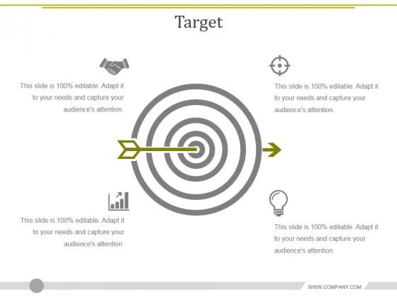 Target Ppt PowerPoint Presentation Ideas Backgrounds