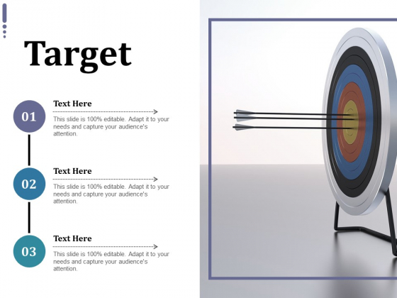 Target Ppt PowerPoint Presentation Infographic Template Layout