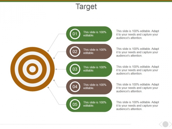 Target Ppt PowerPoint Presentation Layouts Design Inspiration