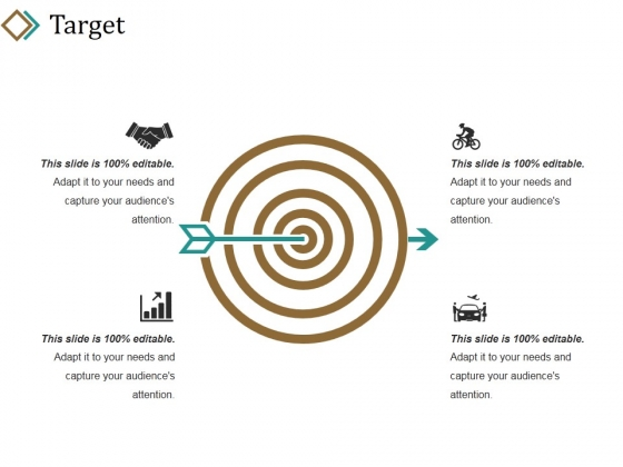 Target Ppt PowerPoint Presentation Pictures Brochure