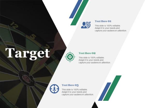 Target Ppt PowerPoint Presentation Show Gridlines