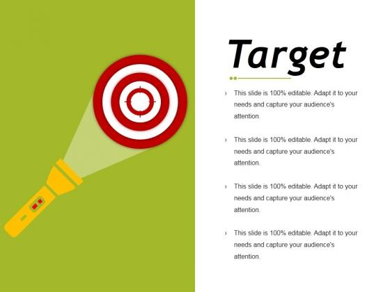 Target Ppt PowerPoint Presentation Slides Deck