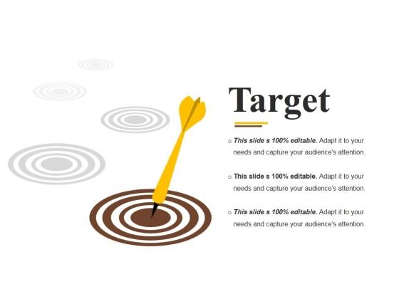 Target Ppt PowerPoint Presentation Slides Ideas