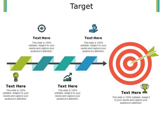 Target Ppt PowerPoint Presentation Summary Gridlines