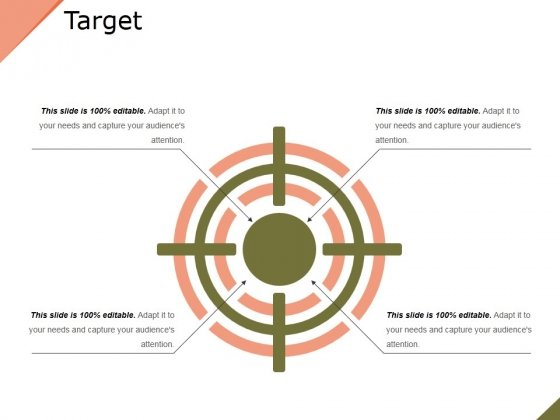 Target Ppt PowerPoint Presentation Visual Aids Summary