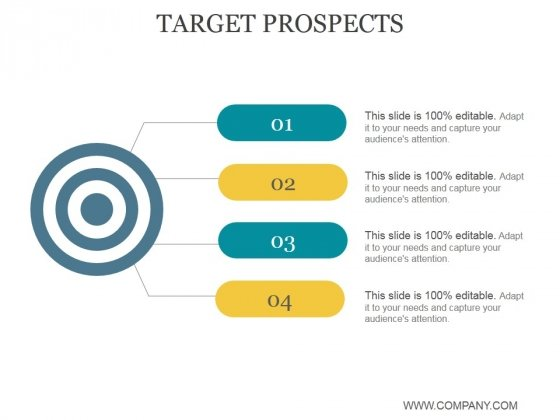 Target Prospects Ppt PowerPoint Presentation Background Images