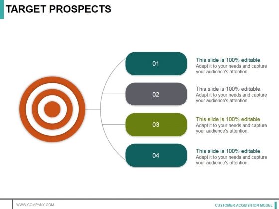 Target Prospects Ppt PowerPoint Presentation Show Design Ideas
