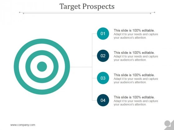 Target Prospects Ppt PowerPoint Presentation Templates