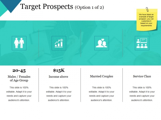 Target Prospects Template 1 Ppt PowerPoint Presentation Gallery Layouts