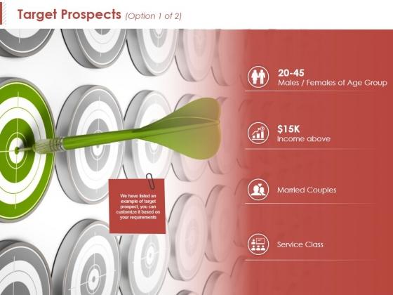 Target Prospects Template 1 Ppt PowerPoint Presentation Summary Portfolio