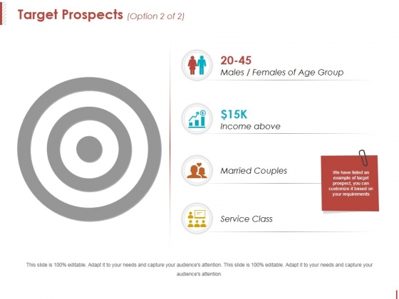 Target Prospects Template 2 Ppt PowerPoint Presentation Slides Templates