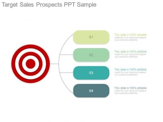 Target Sales Prospects Ppt Sample