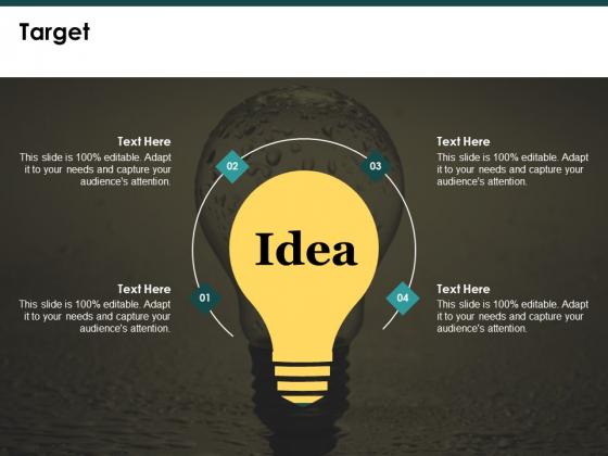 Target Slide Marketing Ppt PowerPoint Presentation Show Topics