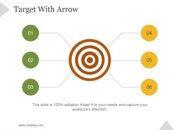 Target With Arrow Ppt PowerPoint Presentation Inspiration
