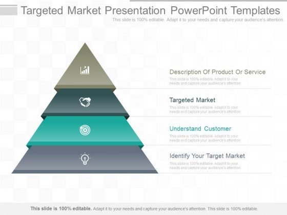 Targeted Market Presentation Powerpoint Templates