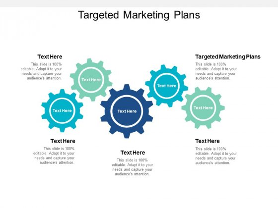 Targeted Marketing Plans Ppt PowerPoint Presentation Icon Mockup