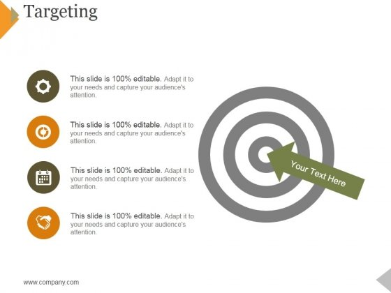 Targeting Ppt PowerPoint Presentation Infographics Information