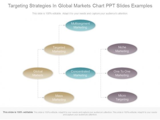 selecting a global target market strategy Global market segmentation •demographics framework for selecting target markets target market strategy options.
