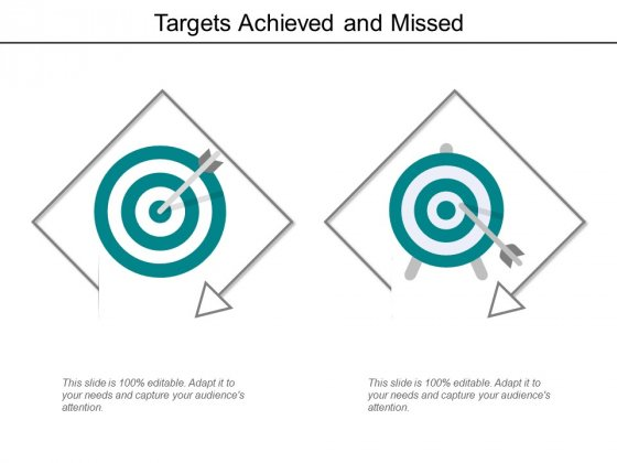 Targets Achieved And Missed Ppt Powerpoint Presentation Inspiration Images