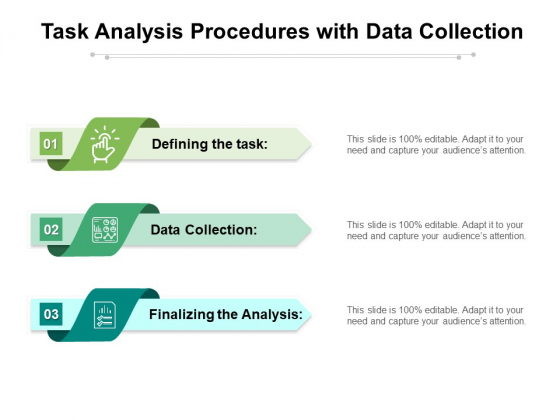 Task Analysis Procedures With Data Collection Ppt PowerPoint Presentation File Designs Download PDF