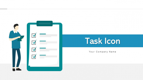 Task Icon Trade Analysis Ppt PowerPoint Presentation Complete Deck With Slides