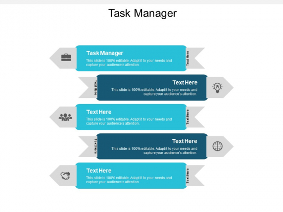 Task Manager Ppt PowerPoint Presentation Icon Clipart Images Cpb