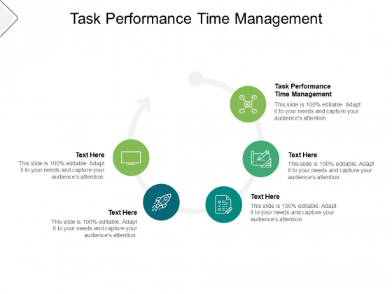 Task Performance Time Management Ppt PowerPoint Presentation Inspiration Design Templates Cpb