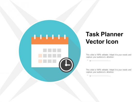 Task Planner Vector Icon Ppt PowerPoint Presentation Styles Maker