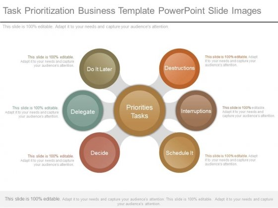 Task Prioritization Business Template Powerpoint Slide Images