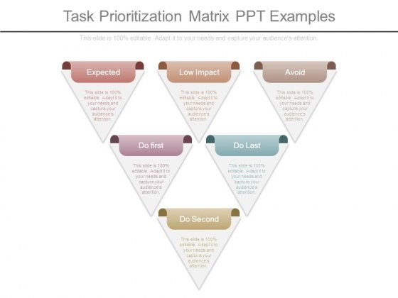 Task Prioritization Matrix Ppt Examples