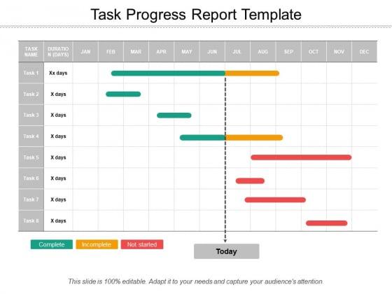 Task_Progress_Report_Template_Ppt_PowerPoint_Presentation_Styles_Objects_Slide_1
