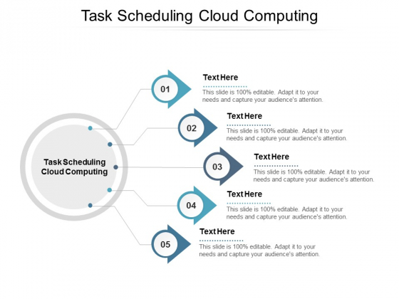 Task Scheduling Cloud Computing Ppt PowerPoint Presentation Show Background Image Cpb