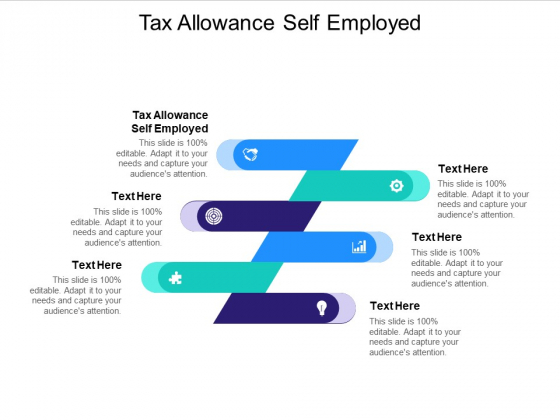 Tax Allowance Self Employed Ppt PowerPoint Presentation Styles Rules Cpb Pdf