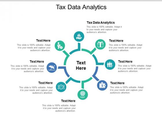 Tax Data Analytics Ppt PowerPoint Presentation Ideas Topics Cpb Pdf